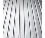 Профнастил Альба Профиль ПС 7 0,35 мм 1170/1220 мм цинк (Украина/Китай)
