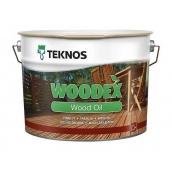 Масло для дерева TEKNOS WOODEX WOOD OIL 9 л бесцветный