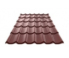 Металочерепиця Ruukki Monterrey Purex 0,5 мм шоколадний