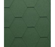 Гибкая черепица Katepal Classic KL 1000х317 мм зеленая