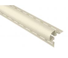 Планка Альта-Профиль Угловая радиусная Т-06 3050 мм белый