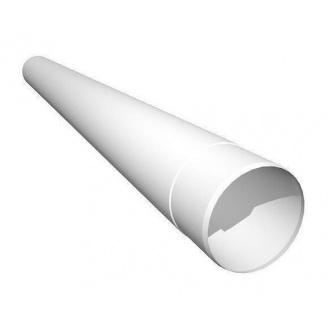 Труба водосточная Ruukki 100 мм 1 м белый