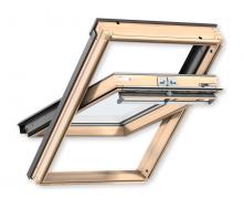 Мансардне вікно VELUX PREMIUM GGL 3070 CK04 дерев'яне класичне 550х980 мм
