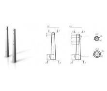 Опора центрифугированная СК 120-6 для ЛЭП 35 кВ