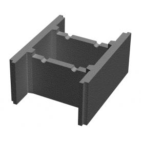 Блок бетонный несъемной опалубки Золотой Мандарин М-100 510х400х235 мм