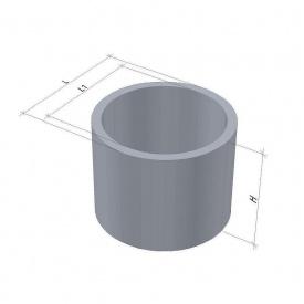 Кільце для колодязя КС 10.9 С ТМ «Бетон від Ковальської»
