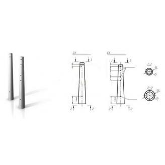 Опора центрифугированная СК 120-15 для ЛЭП 0,4-35 кВ
