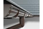 Водосточная система ПВХ INES 120/80 коричневая