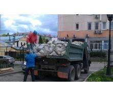 Вивіз будівельного сміття ручним вантаженням