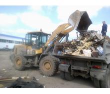 Вивіз будівельного сміття механізованим вантаженням