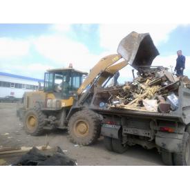 Вывоз строительного мусора механизированной погрузкой