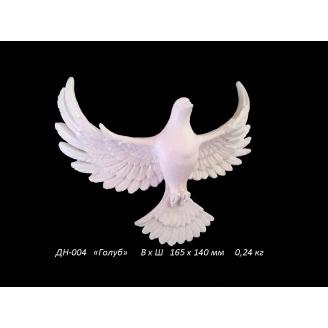 Декоративная накладка Голубь 140х160 мм