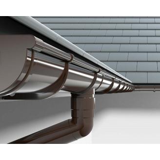 Пластиковая водосточная система водосток  INES 120/80