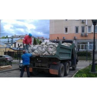 Вывоз строительного мусора ручной погрузкой