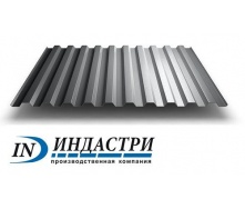 Профнастил Индастри ПС 20 цинк 910/1145 мм 0,5 мм