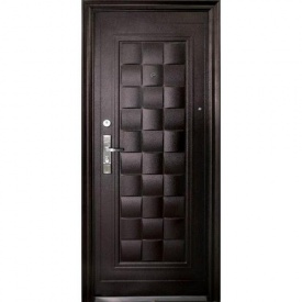 Двери Leader СТАНДАРТ с молотковым покрытием 860x2050 мм