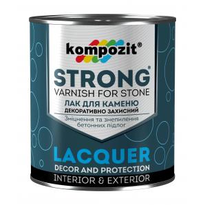 Лак для каменю Kompozit STRONG 10 л
