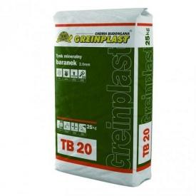 Штукатурка минеральная Greinplast TB 25 кг барашек