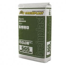 Шпаклевка гипсовая Greinplast SGS 20 кг старт