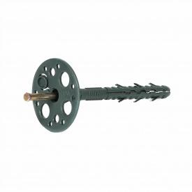 Дюбель Masterplast с металлическим гвоздем и термозаглушкою 10х140 мм