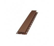 H-планка Budmat 3 м світло-коричнева
