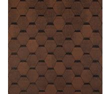 Битумная черепица Tegola Top Shingle Smalto 3 м2 коричневый