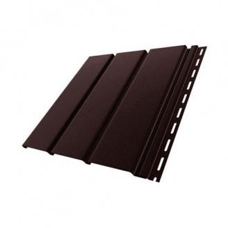 Панель Budmat без перфорации 3 м темно-коричневая