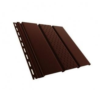 Панель Budmat перфорированная 3 м темно-коричневая