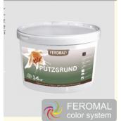 Грунтовочная краска Feromal под декоративные штукатурки с кварцевым наполнителем 14 кг белый