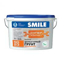 Грунт SMILE SG-23 адгезионный штукатурный акриловый 1,2 кг