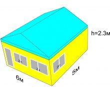 Изготовление МАФа 5х6м