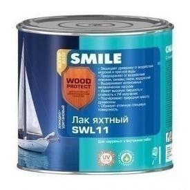 Лак яхтный SMILE SWL-11 полуматовый 19 л бесцветный