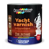 Лак для яхт поліуретановий Kompozit глянцевий 10 л