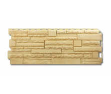 Фасадна панель Альта-Профіль Скелястий камінь 1170х450х20 мм Кавказ