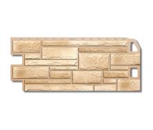 Фасадная панель Альта-Профиль Камень 1130х470х20 мм Песчаник