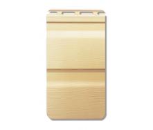 Сайдинг вініловий Альта-Профіль Flex двухпереломний 3660х230х11 мм житній