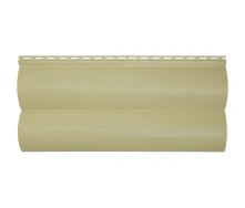 Сайдинг вініловий Альта-Профіль BlockHouse Slim двухпереломний 3660х230х11 мм бежевий