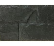 Облицовочная плитка Золотой Мандарин Сланец 210x60 мм графит