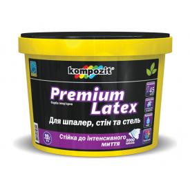 Краска интерьерная Kompozit Premium Latex C матовая 0,9 л