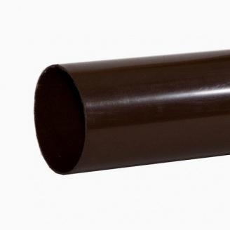 Труба водостічна Альта-Профіль Еліт 95 мм 3 м коричневий