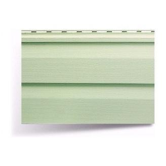 Сайдинг виниловый Альта-Профиль Альта-Сайдинг двухпереломный 3660х230х11 мм салатный