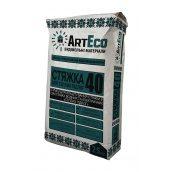 Стяжка для теплого пола ArtEco 40 25 кг серый