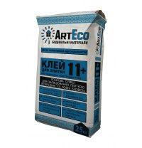 Клей для плитки ArtEco 11+ 25 кг серый