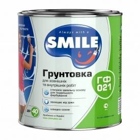 Грунтовка SMILE ГФ-021 28 кг красно-коричневый