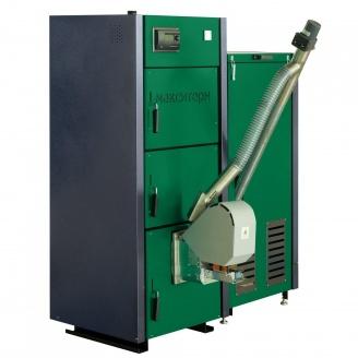 Пеллетный котел Макситерм мощностью 17 кВт