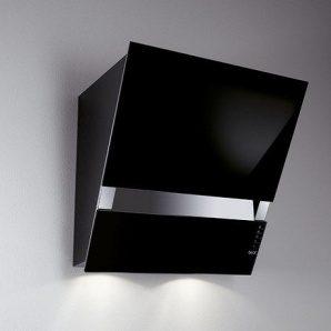 Пристінна витяжка BEST KITE Small Black 550х413х900 мм