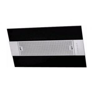 Пристінна витяжка BEST IRIS Black 550х341х950 мм нержавіюча сталь