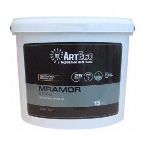 Мозаїчна штукатурка ArtEco Mramor STONE SILVER B002 15 кг