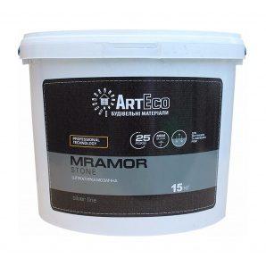 Мозаїчна штукатурка ArtEco Mramor STONE SILVER S421 15 кг