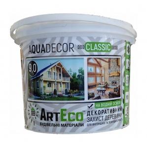 Декоративний засіб ArtEco AQUADECOR 4,5 л оливковий